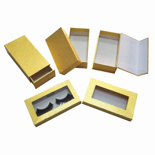 2019 custom cosmetic packaging makeup box and eyelash box