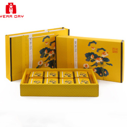 Custom Colorful Printing Luxury Gift Box Moon cake Packaging Box