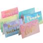 Bulk Thank You Card Greeting Cards Quality Paper Custom Printing Birthday Card