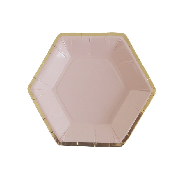 wholesale  high quality  home  bagasse  paper plate Palm leaf  Disposable Plates