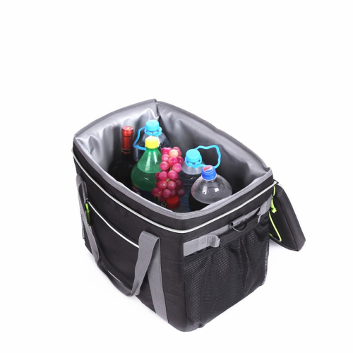 Support customized multi-color large incubator takeout outdoor ice pack zippered takeout bag