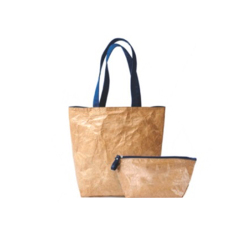 Customized printing design tyvek wine bag and shopping bag