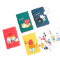 Lovely Creative Students Playing Cards Cartoon Girl Personality Puzzle Fun Bucket Landlord Leisure Party Card Game