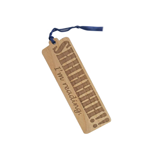 Promotional Custom Printed Light  Wooden Bookmark With Competitive Price