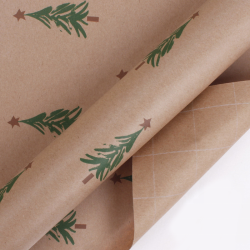 Luxury Recycle Double-sided Color Tissue Paper Packaging Christmas Gift Wrapping Paper For Flowers
