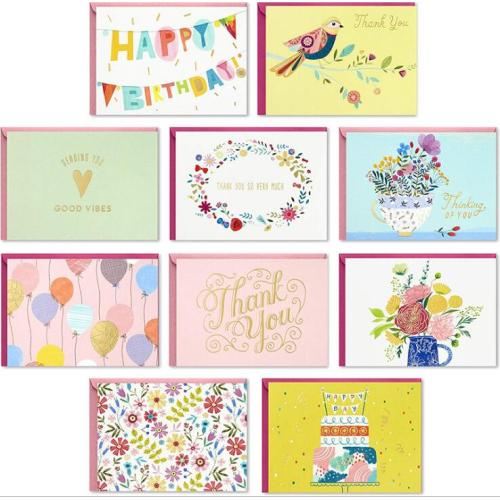 Wholesale Handmade Boxed Greeting Cards Set, Bulk All Occasion Assorted thank you cards Greeting Cards with Envelopes