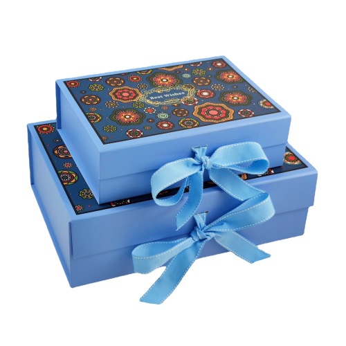 Custom Eco Friendly Color Printing Corrugated Rigid Fancy Packaging Gift Paper Box