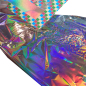 Recommended hot selling rainbow lens gold silver laser MSDS ROHS certificated holographic hot stamping foils