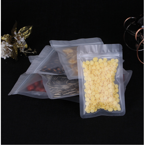 Premium Child Proof Heat Seal Ziplock 1lb Vacuum Smell Proof Clear Mylar Bags for Long Term Food Storage