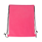 Eco friendly customized gym cosmetic shoe clothes pp non woven drawstring bag backpack