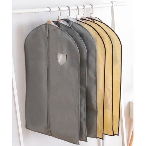 Long Luxury Pure Color White Black Colors Watertproof Business Travel Suit Cover Bag