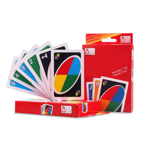 Solitaire UNOC Card wholesale board game card game multiplayer party solitaire with penalty cards