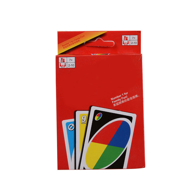 Table game entertainment card Monopoli playing card custom Unocal style playing card manufacturers wholesale