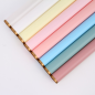 20sheets/Bag 58*58cm New design Golden edge Flower wrapping paper waterproof florist paper plastic wrapping for flower