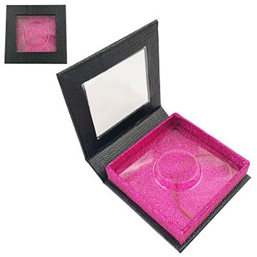 Wholesale flip gift box packaging with logo eyelash vendor customized boxes