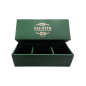 Custom logo printed gift box with rope cosmetic gift box