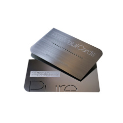 Creative fashionable stainless steel business card printing