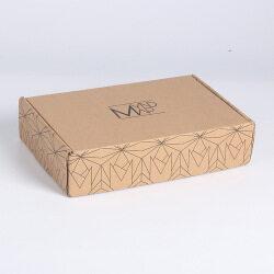 Wholesale Standard Kraft Mailer Shipping Box With custom Logo Corrugated Boxs