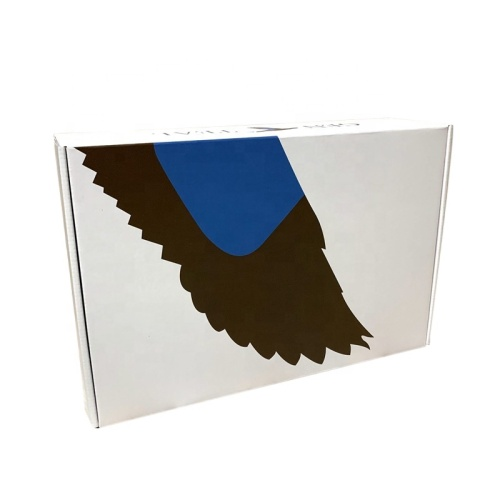 Custom logo cardboard carton transport post box mailing box wholesale corrugated box
