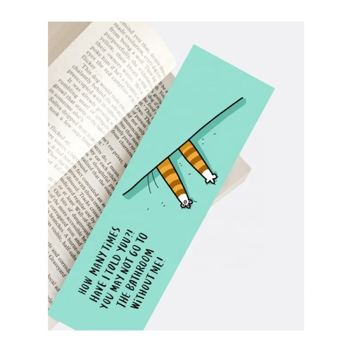 Custom of bookmarks cartoon characters paper bookmark to decorate for book