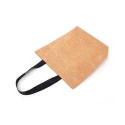Customized logo washable tyvek cosmetic bag shoulder paper bag