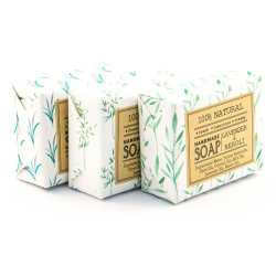 Custom window color box soap paper box bronzing gold card laser cosmetic carton  Packaging box