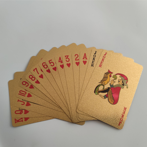 Manufacturer spot goods logo custom other game accessories waterproof PET material home entertainment playing cards