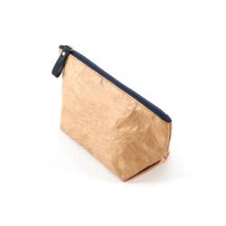 Promotional washable kraft paper makeup bag and food bag