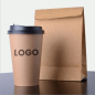 12oz Insulated Double Wall Bio Recycled Paper Cup Coffee Tea Cola Customized Paper Cups with Plastic Lid