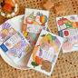 Self adhesive journal  planner masking sticker pack set japanese style carton washi sticker vintage paper sheet