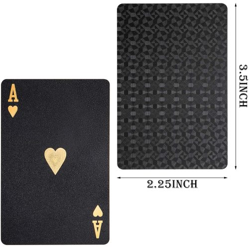 Playing Card Waterproof Poker Cards Plastic PET Poker Card Novelty Poker Game Tools for Family Game Party