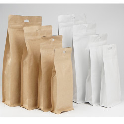 2016 Different Types Of Plastic Lined Paper Bags With Your Own Logo