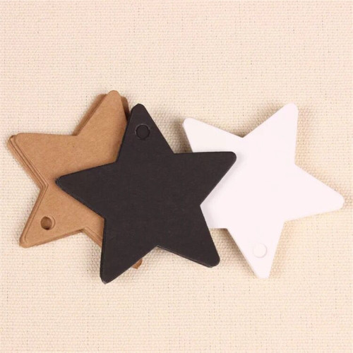 Factory Price Bulk Wholesale Kraft Paper Fancy Small Hang Tag For Gift