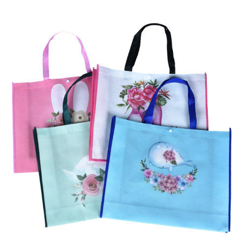 High Quality Hand Bag Customized Shoes Non Woven Gift Bag Button Bag