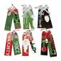 Christmas Decoration Supplies Kraft Paper Full Color Merry Christmas Printed Garment Holiday Gift Hang Tags