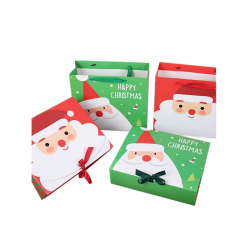 Wholesale Custom Print Paper Bag personalizadas bolsas de papel Fancy Favor Christmas Gift Storage Packaging Bags