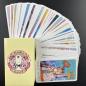 Custom high-end paper printing playing magic big tarot cards with guidebook