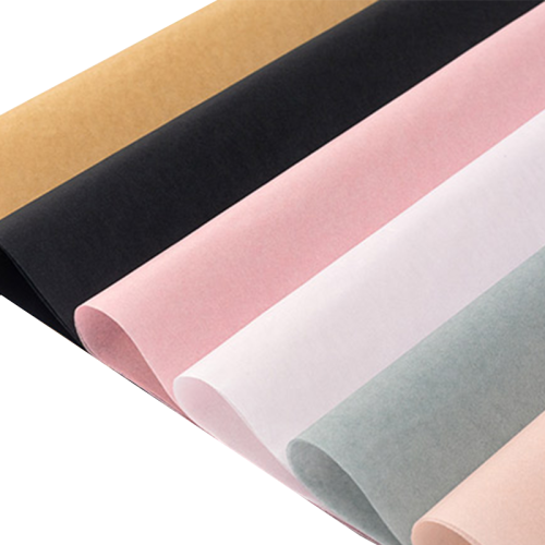 High quality fashionable custom logo gift wrapping paper packaging paper