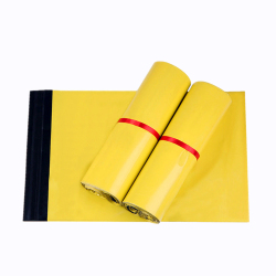 Biodegradable eco friendly plastic mailing courier bags with logo custom printed