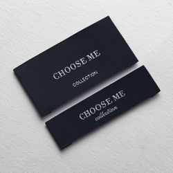 Satin woven labels that under the customers'sample or drawings, and also can offer the design service for free