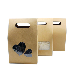 Hot Burger Food Recyclable Packaging Printed Paper Bags