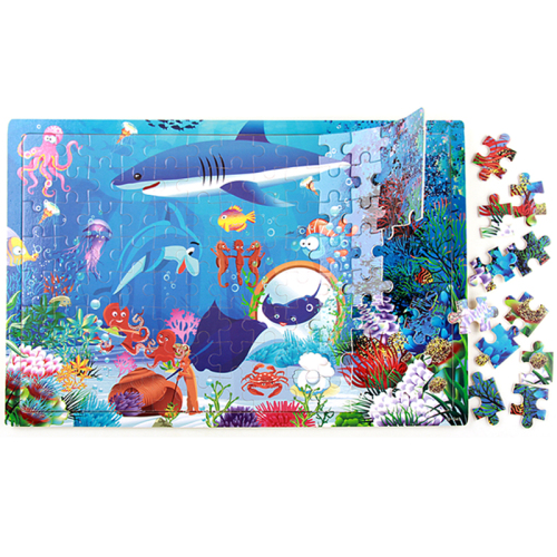 Jigsaw Puzzle Custom Printed Puzzle Wholesale Colorful Paper/wooden 1000 for Children Game DIY Toy Educational Toy