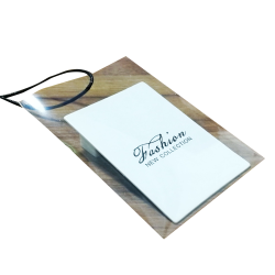 Custom Luxury Wholesale New China Clothing Hang Tag Designs