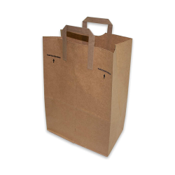 Recyclable Personalized Kraft Customised kraft Paper Bags Logo Printing Paper Bags