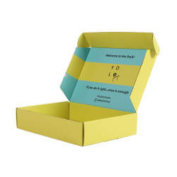 Wholesale Small Packaging Printing Corrugated Foldable Paper Boxes