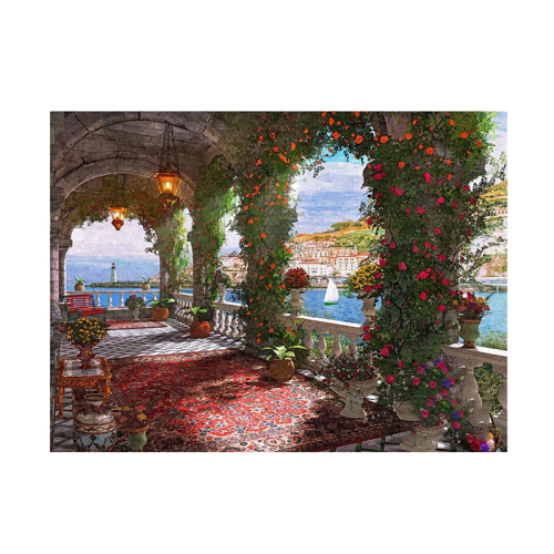 New Arrival Personalized School Sets Beautiful Landscape Painting Jigsaw Puzzles 1000 Pieces