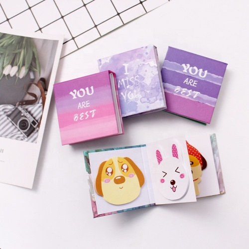 customized tear-off paper notepad self-adhesive  sticky notes pad  promotional  sticky note with logo