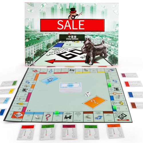Manufacturer wholesale board game card game card family party board game toy customization