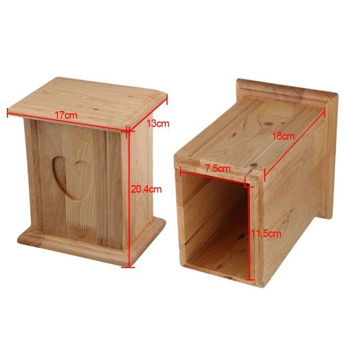 Memorial pet urns for placing animal cremated ashes Funeral supplies wholesale wooden pet urns