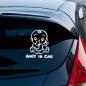 Waterproof Advertising Die Cut Vinyl Removable Logo Sticker Printed Self Adhesive Car Sticker Label